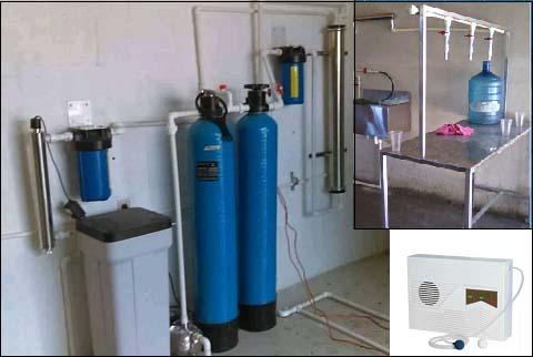 centro de llenado de aguapurificada