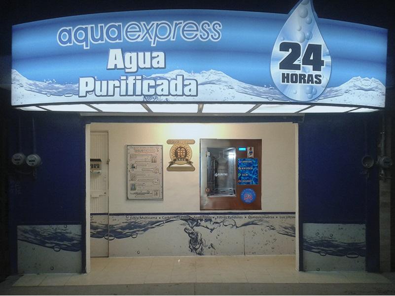 kiosco de agua purificada